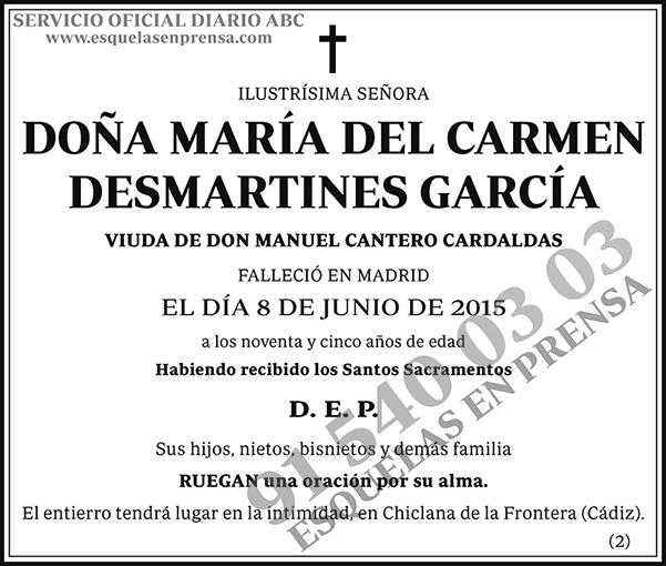 María del Carmen Desmartines García